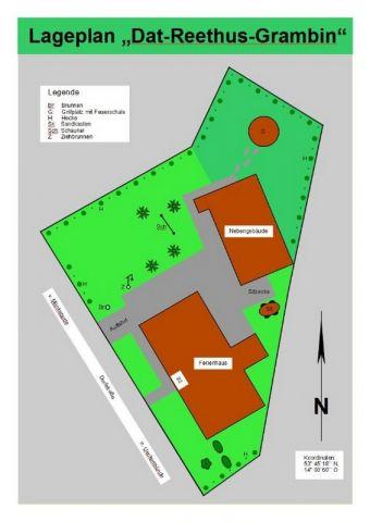 Lageplan vom Grundstück