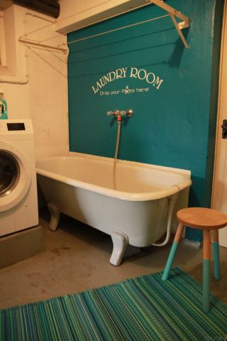Waschküche für Hunde
