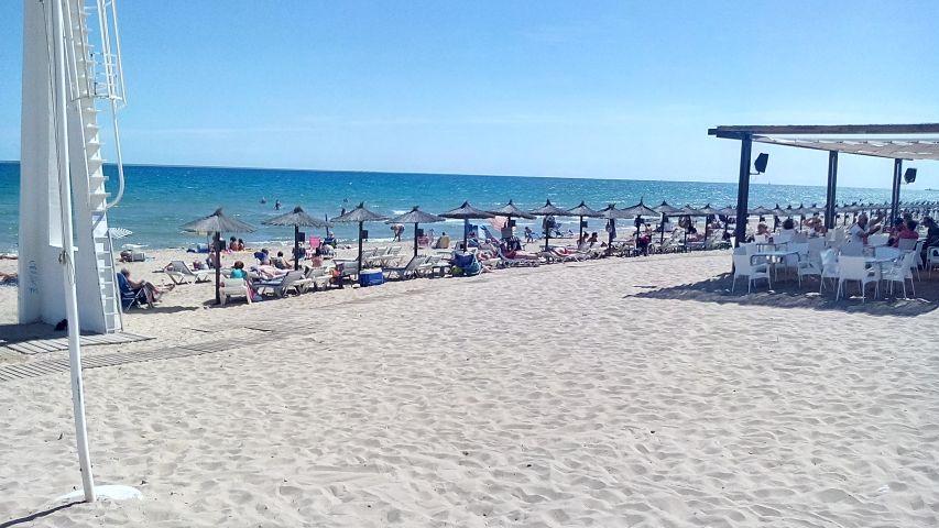 Unser Strand 2 Km entfernt
