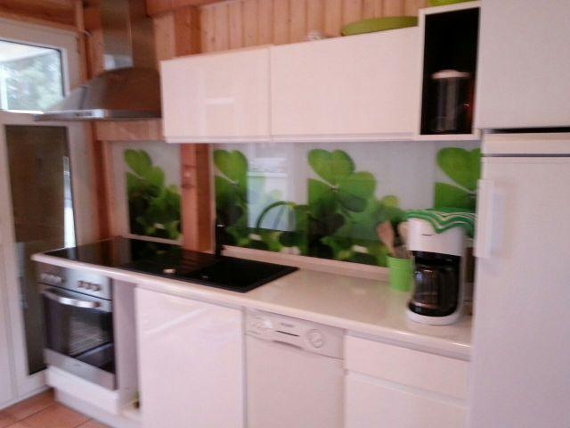 die Küchenzeile Geschirrspüler Ceranfeld