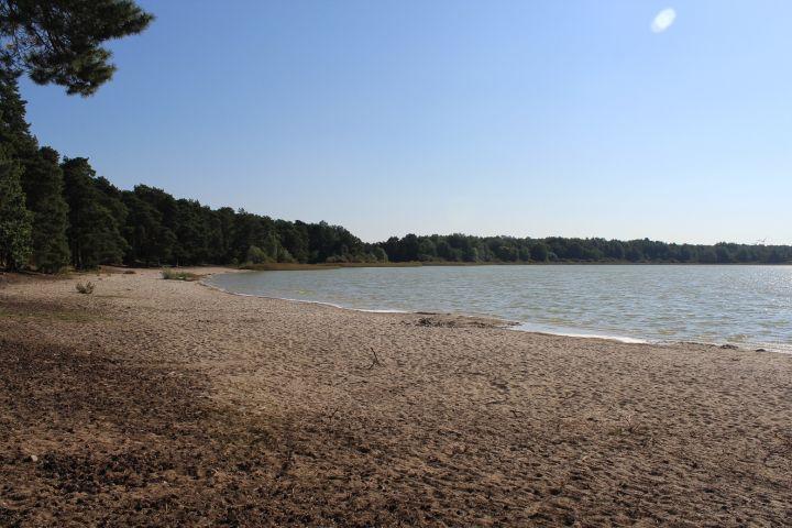 See zum Baden für Mensch und Hund
