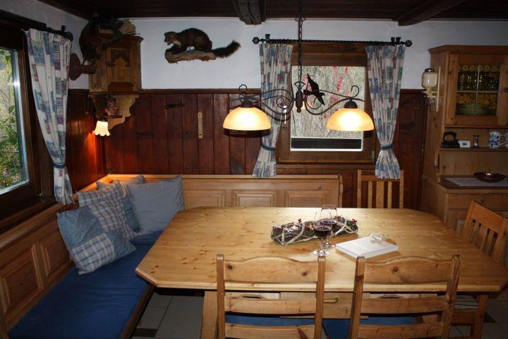 Hüttenstube mit Sitzecke