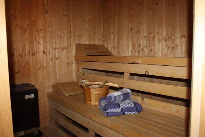 Unsere haueigene Sauna