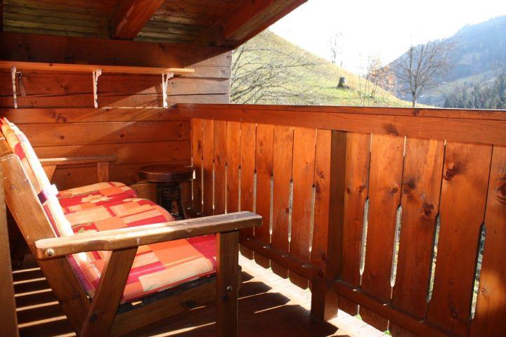 Balkon des Dreibettzimmers