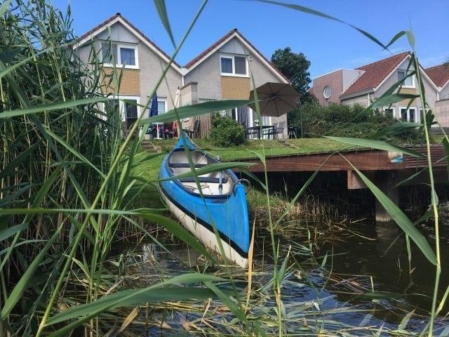 Fahrten mit dem Kanu durch die Grachten