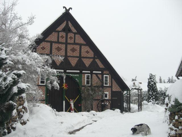 Auch im Winter ist es bei uns schön!!