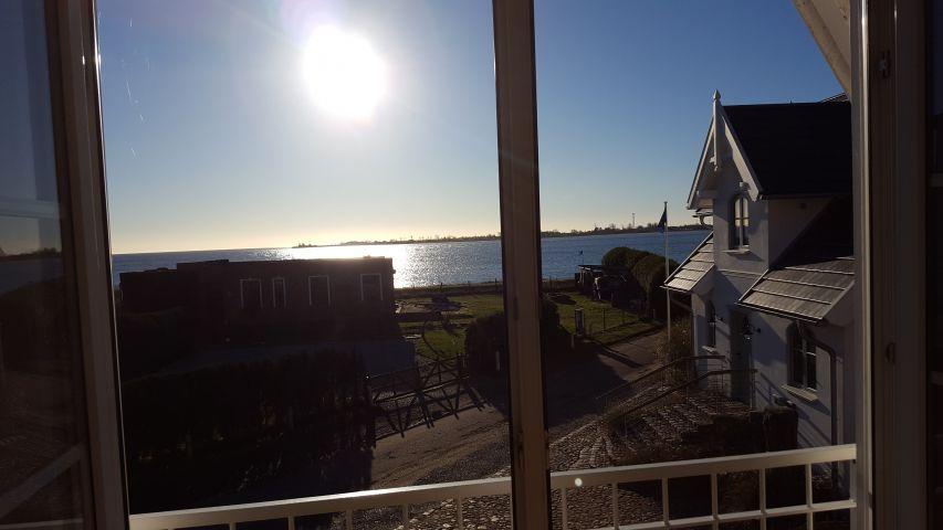 Wohnzimmerblick von der Sonneninsel auf die Ostsee