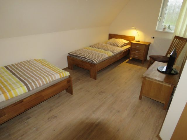 Schlafraum 2 Betten