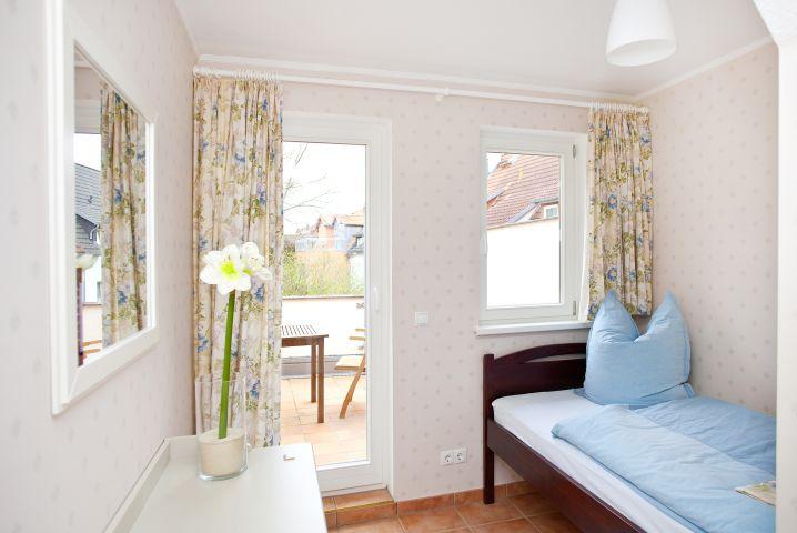 Ein Bett zum Träumen in der Ferienwohnung