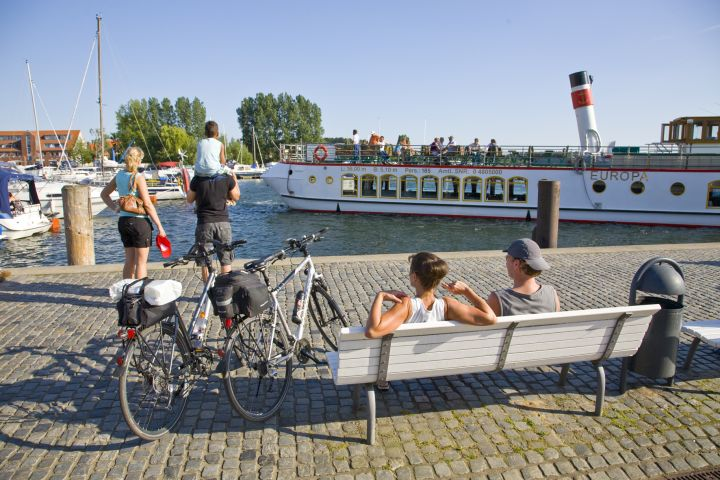 Planen Sie lange Fahrradtouren