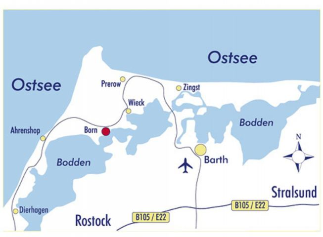 Ostseehalbinsel Fischland-Darss-Zingst