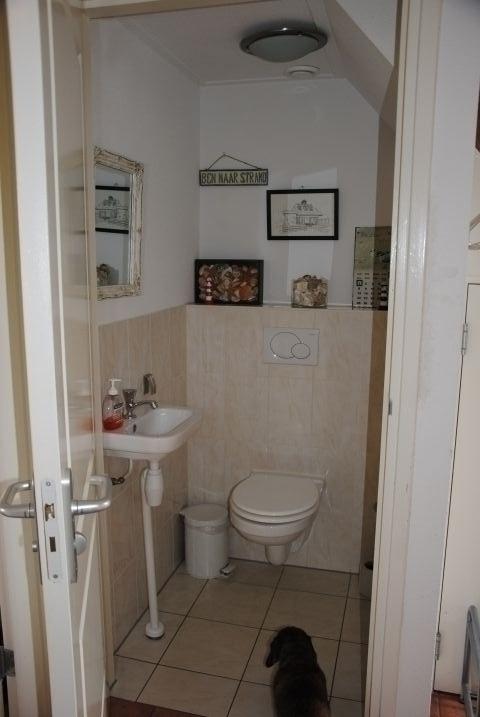 Toilette unten