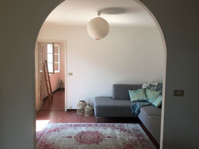 Appartement Breva das Wohnzimmer