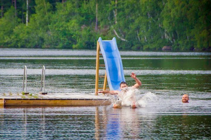 Wasserspaß in Schweden