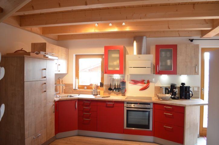 Küchenbereich Ferienhaus Gamsbock