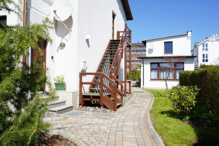 Eingangsbereich zum Haus Ostsee