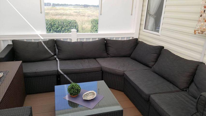 Veranda mit Chill-Lounge