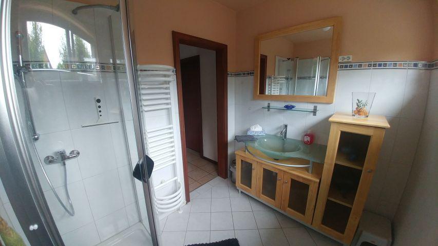 Duschbad in der unteren Etage