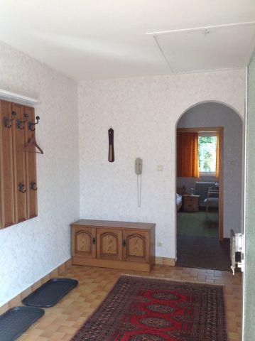 Eingang und Garderobe