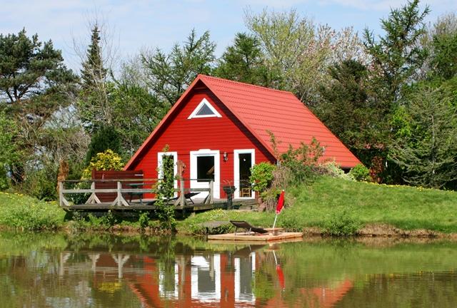 Ferienhaus stella 5 p am see garten nordsee for Ferienunterkunft nordsee