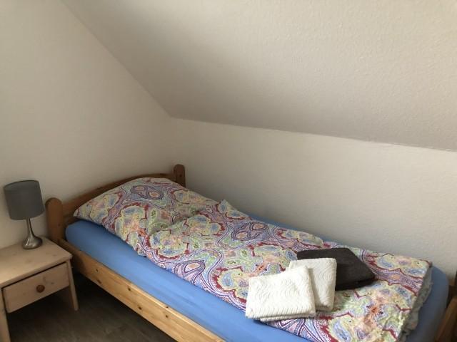 Kinderschlafzimmer oben mit 2 Einzelbetten