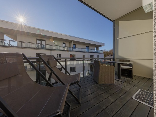 Balkon für gemütliche Stunden