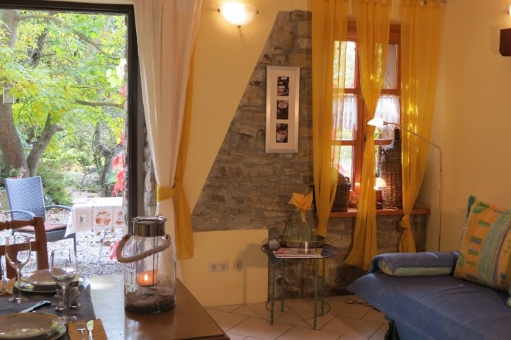 Blick aus dem Apartment Dolcetto