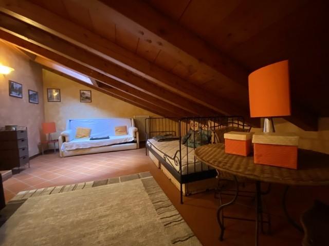 Das Dachgeschosszimmer im OG
