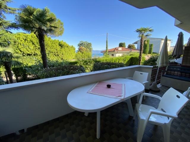 Terrasse mit Blick auf den Gardasee