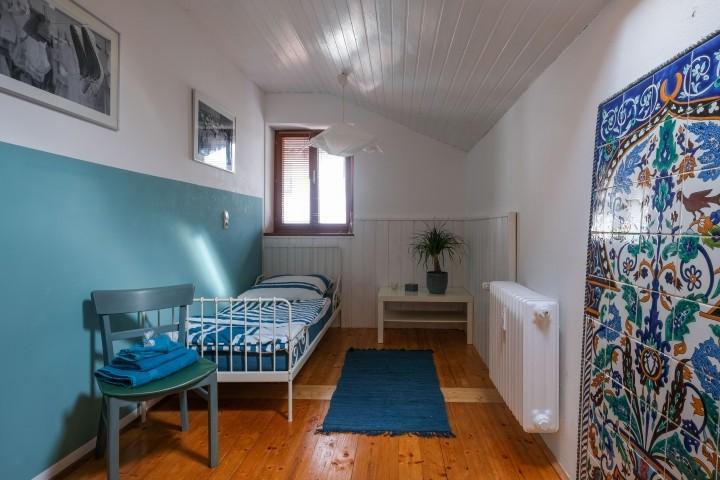 Schlafzimmer 3 mit Kinder/Gästebett 80*190