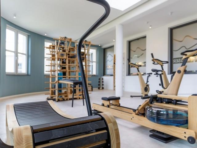 Fitnessbereich im Haus