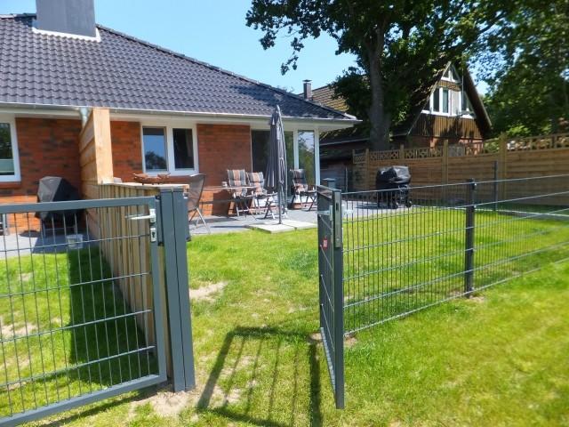 Kurzer Weg: Garten/ Terrasse