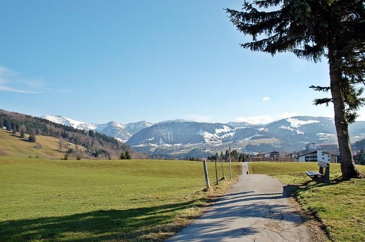 Zahlreiche Wanderwege und Nordic-Walking-Routen beginnen direkt hinter dem Haus !!