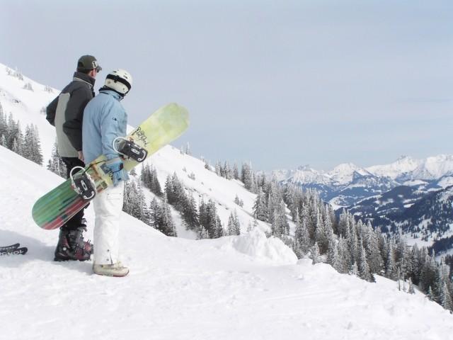 Oberstaufner Bergwelt Winterimpressionen: es erwarten Sie verschiedenste Skipisten aller Schwierigkeitsgrade in gleich mehreren Skigebieten!