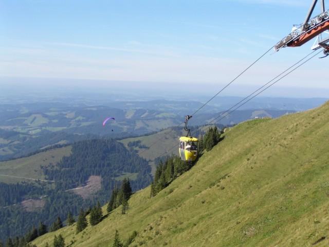 Impressionen der idyllischen Bergwelt Oberstaufens (verschiedene Berg- und Seilbahnen sind für unsere Gäste gratis !!!)