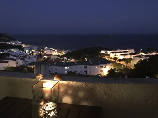 Salema bei Nacht