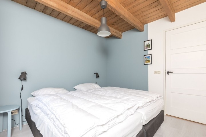 Schlafzimmer 1 mit 2 Einzel Boxspringbetten