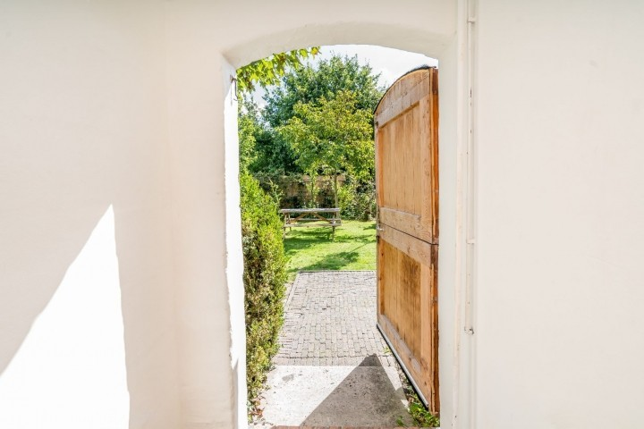 Die traditionelle Eingangstür
