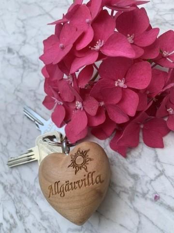 Allgäuvilla / Schlüsselbund für die Gäste