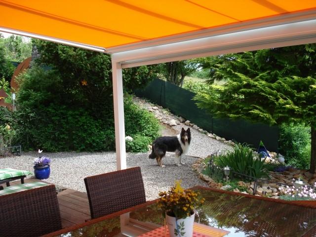 Terrasse- Garten