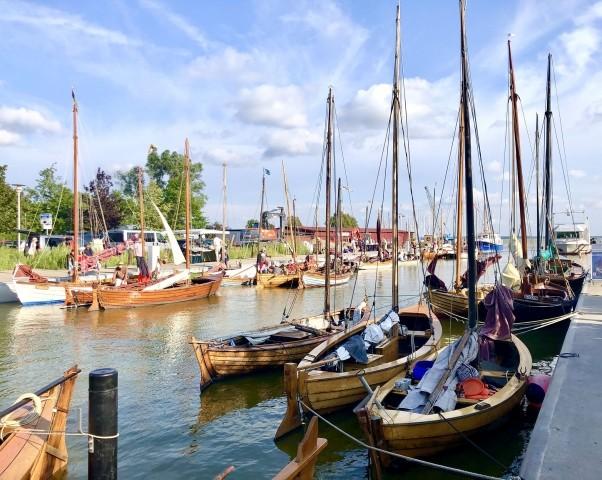 Der Wustrower Hafen