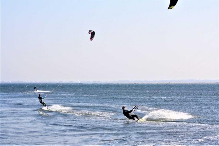 Ein Paradies für Kitesurfer