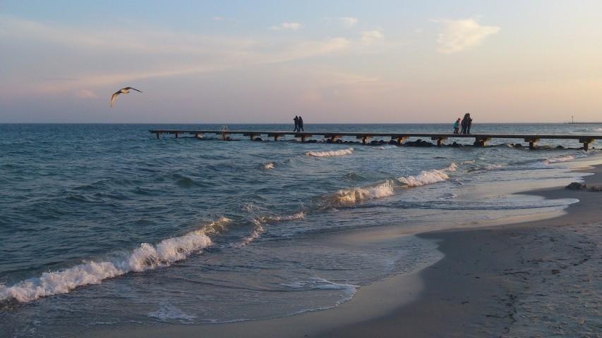 Abenspaziergang am Strand