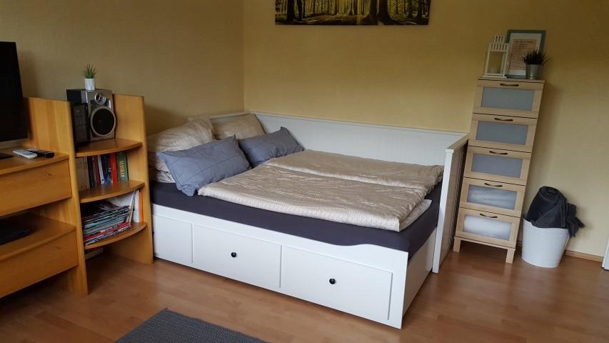 Tagesbett als Doppelbett