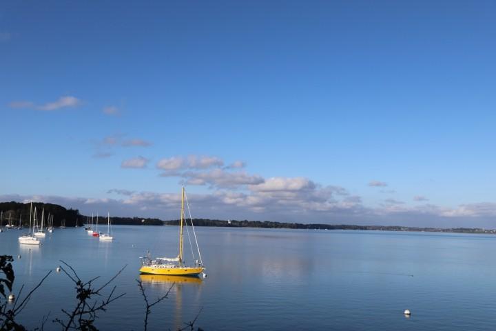 Blick auf den Golfe du Morbihan, 70m