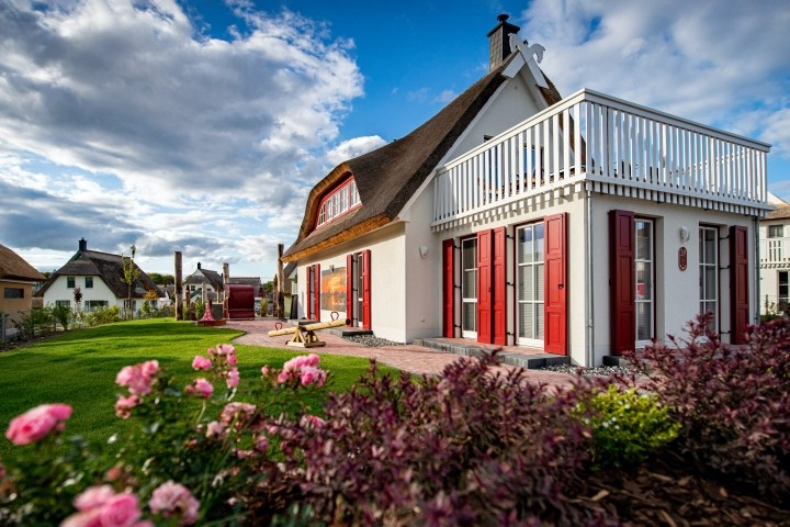 Wunderschönes Reetdach Ferienhaus