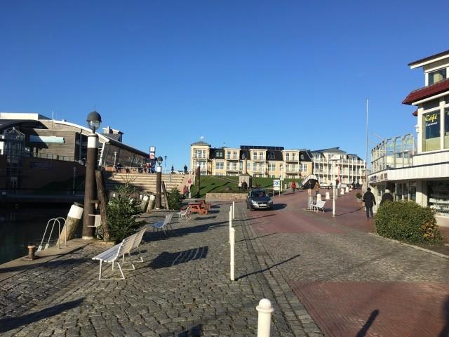 Hafen Richtung Stadt