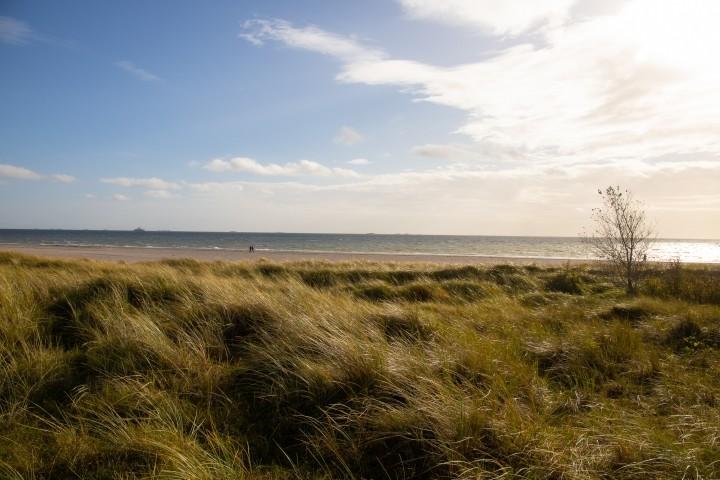 Es gibt unendliche Spazierwege am Meer entlang.