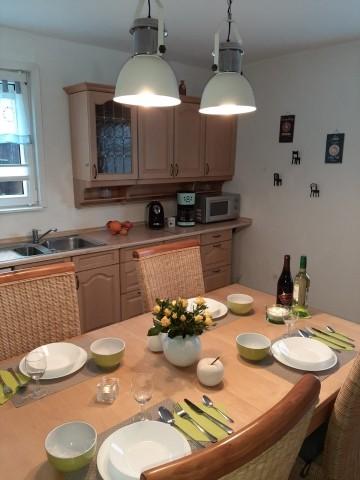 Küche von ausgestattet und viel Platz