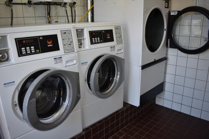 Waschmaschine im Park